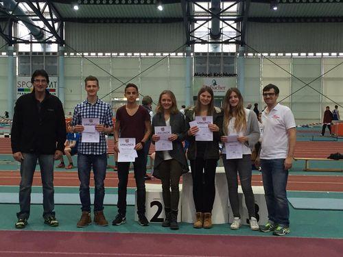 Leichtathletikkreis ehrt seine erfolgreichsten Nachwuchssportler 2015