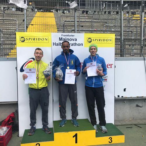 Kreismeisterschaften im Halbmarathon Lisa Merget und Tilahun Babsa erneut Kreismeister