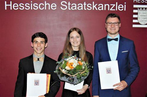 Dr. Horst-Schmidt-Stipendium für drei Leichtathleten