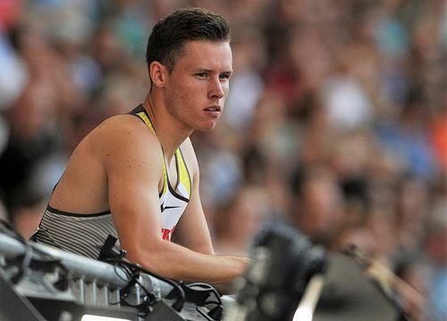 Kevin Kranz sprintet Hessenrekord und EM-Norm